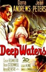 Deep Waters 1948 DVD - Dana Andrews / Jean Peters